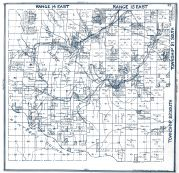 Sheet 012 - Townships 20 and 21 S., Ranges 14 and 15 E., Juniper Ridge Curry Mountains, Compton, Fresno County 1923